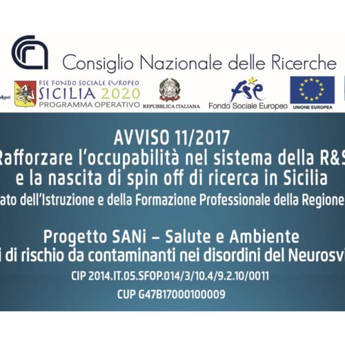 SANi – Salute e Ambiente – fattori di rischio da contaminanti nei disordini del Neurosviluppo