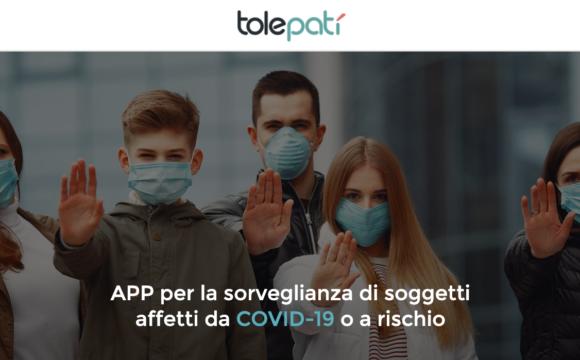 Tolepatì un'App per la sorveglianza clinica dei pazienti con Covid-19