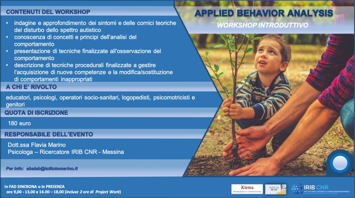 Workshops Introduttivi ABA